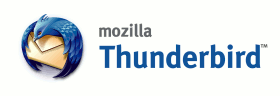 Mozilla Thunderbird horizontal wordmark